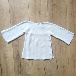 Fred Bare Kimono Sleeve Toddler Sweater